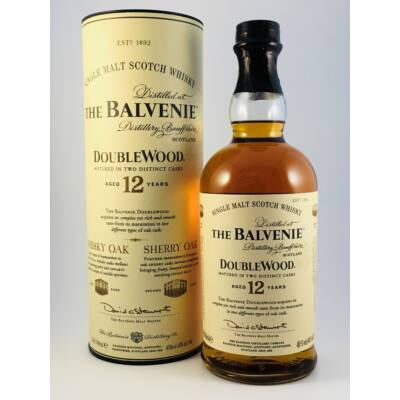 THE BALVENIE DOUBLE WOOD 12 YEARS