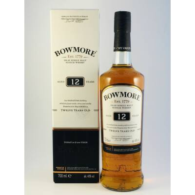 BOWMORE 12 YEARS WHISKY