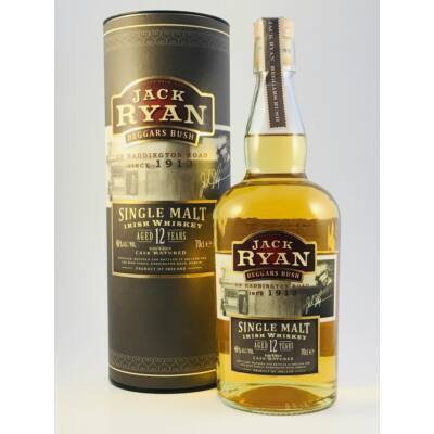JACK RYAN BEGGARS BUSCH 12 YEARS WHISKEY